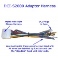 DCI-S2000 Adapter Harness