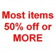Clearance - 33% to 70% Off