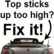 Convertible Top Fix